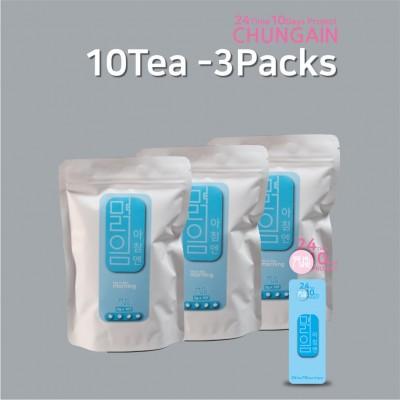 2410-맑음 10tea 3packs